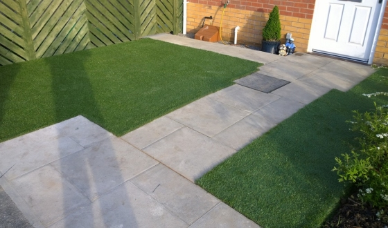 Other Services (Artificial Garden Turf shown)