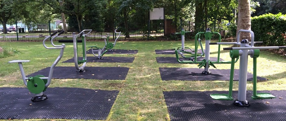 Groundplay Limited successfully installed this all-new outdoor gym fitness facility inLittle Heath, Berkshire.
